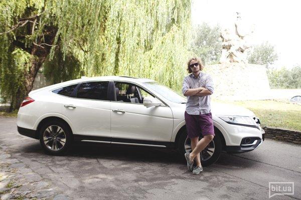 Егор Петров и Honda Crosstour