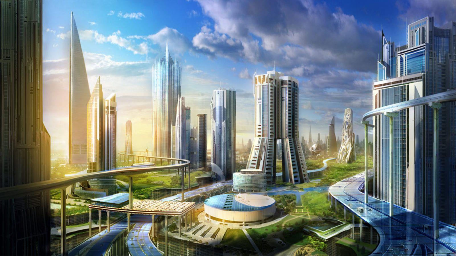 города будущего картинки